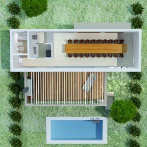 Vivienda Quincho 53 m2