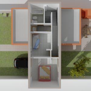 Vivienda Quincho 101 m2