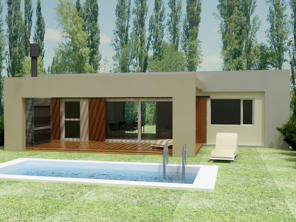Las lilas de plottier gran valle negocios for Modelos de viviendas